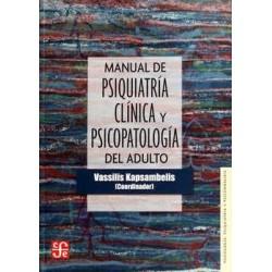 Manual de Psiquiatría Clínica y Psicopatología del adulto