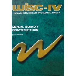Escala de Inteligencia de Wechsler para niños IV (WISC IV)