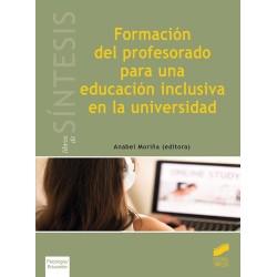Formación del profesorado paa una educación inclusiva en la universidad