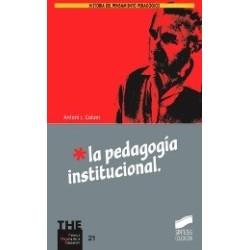 La pedagogía institucional