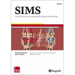 Inventario estructurado de simulaicón de síntomas (SIMS)