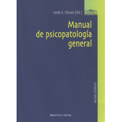 Manual de psicopatología general