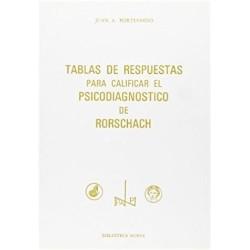 Tablas de respuestas para calificar el psicodiagnóstico de Rorschach
