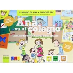Ana va al colegio
