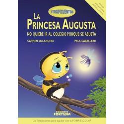 La princesa Augusta no quiere ir al colegio porque se asusta