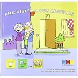 Ana visita a sus abuelos