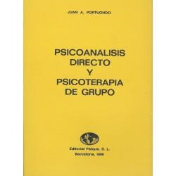 Psicoanálisis directo y psicoterapia de grupo