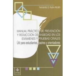 Manual práctico de prevención y reducción de la ansiedad en los exámenes y pruebas orales