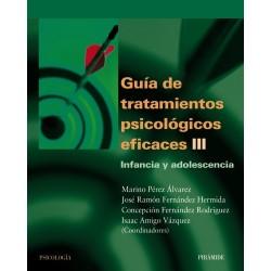 Guía de tratamientos psicológicos eficaces