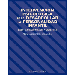 Intervención psicológica para desarrollar la personalidad infantil