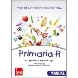 Primaria-R. Test de aptitudes cognoscitivas