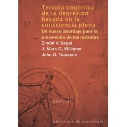 Terapia cognitiva de la depresión basada en la consciencia plena