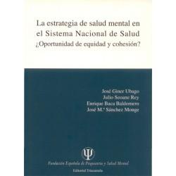 La estrategia de salud mental en el Sistema Nacional de Salud
