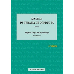 Manual de terapia de conducta