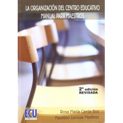 La organización del centro educativo