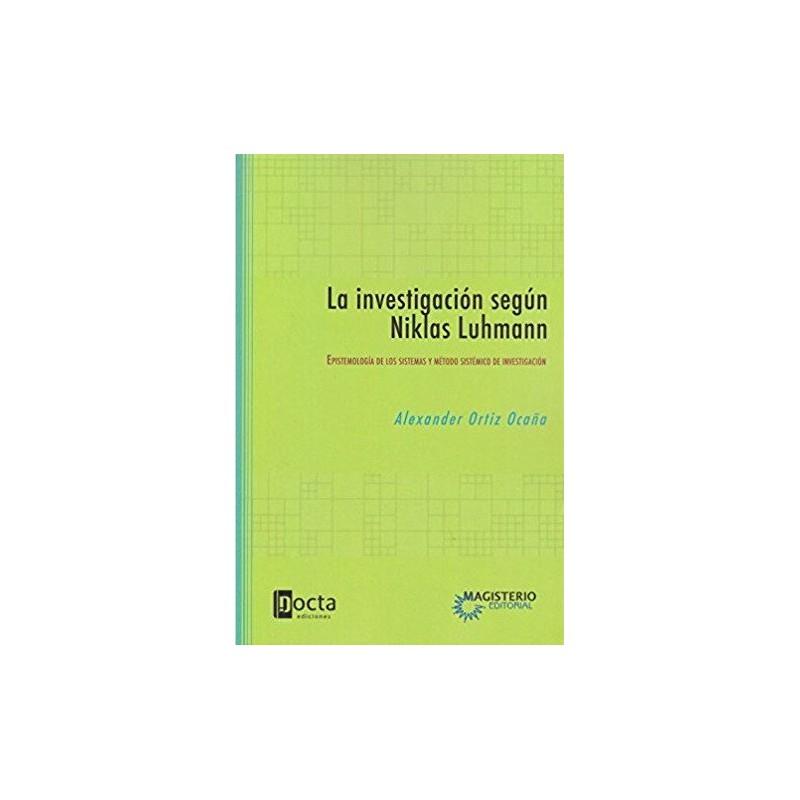 La investigación según Niklas Luhmann