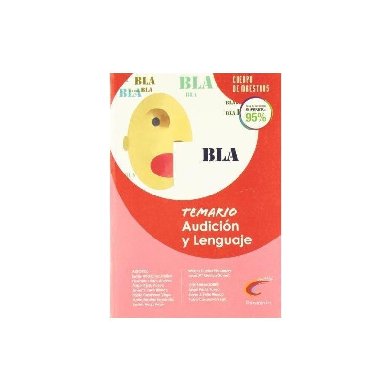Temario Audición y Lenguaje