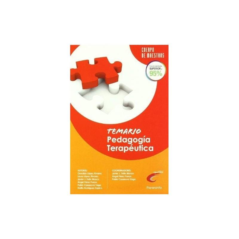Temario Pedagogía Terapéutica