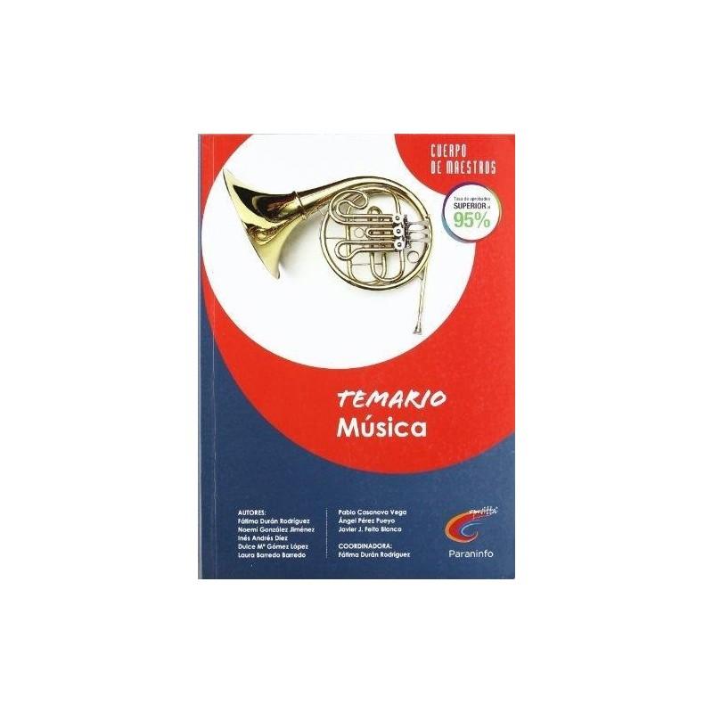 Temario Música