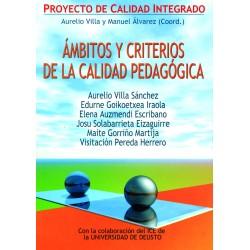 Ámbitos y criterios de calidad pedagógica