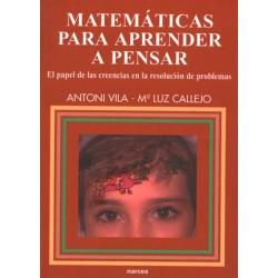 Matemáticas para aprender a pensar