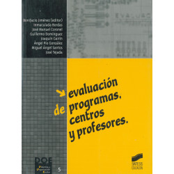 Evaluación de programas, centros y profesores