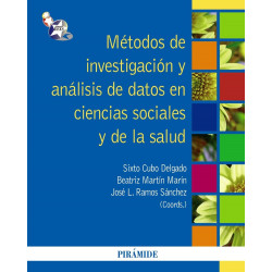 Métodos de investigación y análisis de datos en ciencias sociales y de la salud