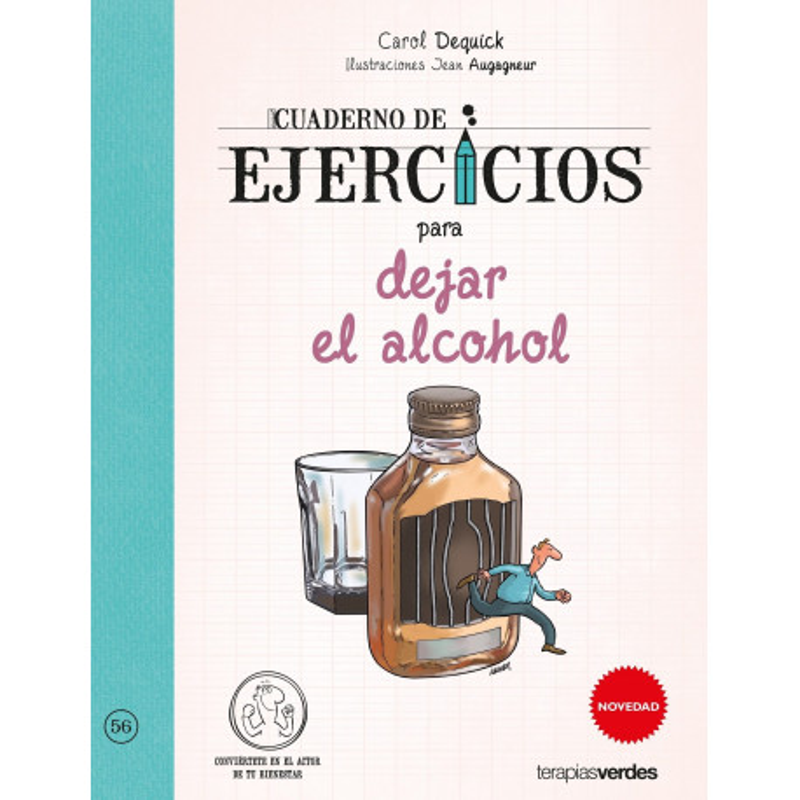 Cuaderno de ejercicios para dejar el alcohol