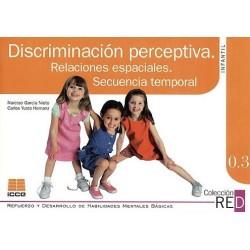 Discriminación perceptiva. Relaciones espaciales. Secuencia temporal