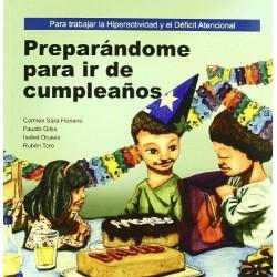 Preparándome para ir de cumpleaños