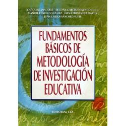 Fundamentos básicos de metodología de investigación educativa