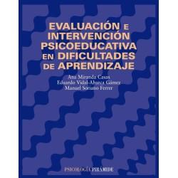 Evaluación e intervención psicoeducativa en dificultades de aprendizaje