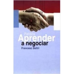 Aprender a negociar