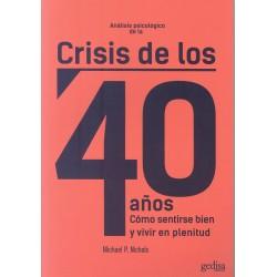 Análisis psicológico de la crisis de los 40 años