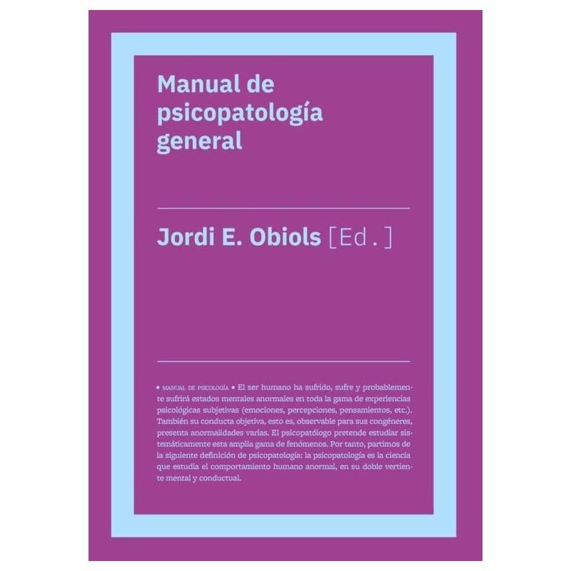 Manual de psicoopatología general