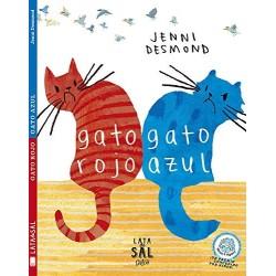 Gato rojo gato azul